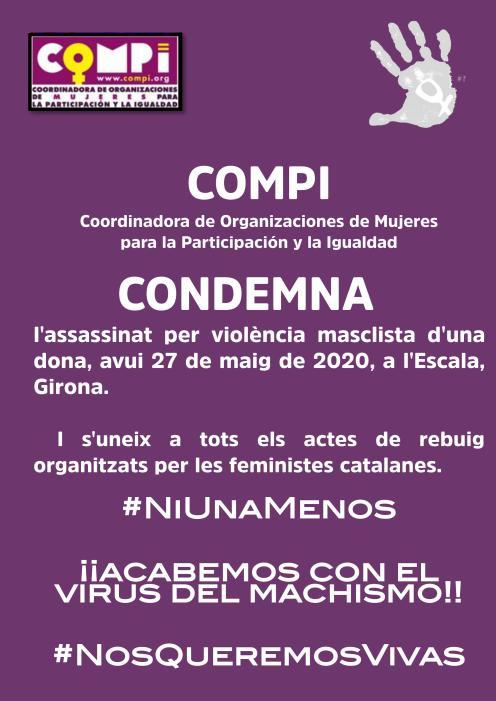 Cartel condena catalan